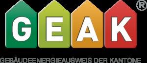 GEAK Gebäudeenergieausweis der Kantone