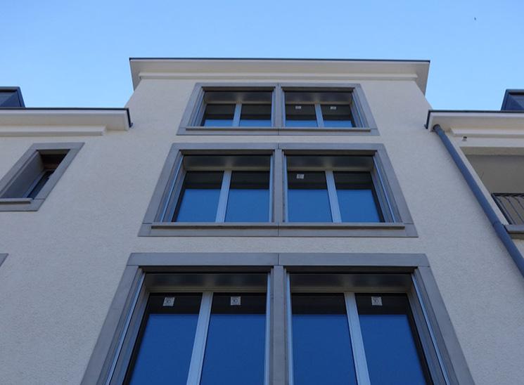 Luzern Mettenwyl, Fassade, Arbeiten im Aussenbereich