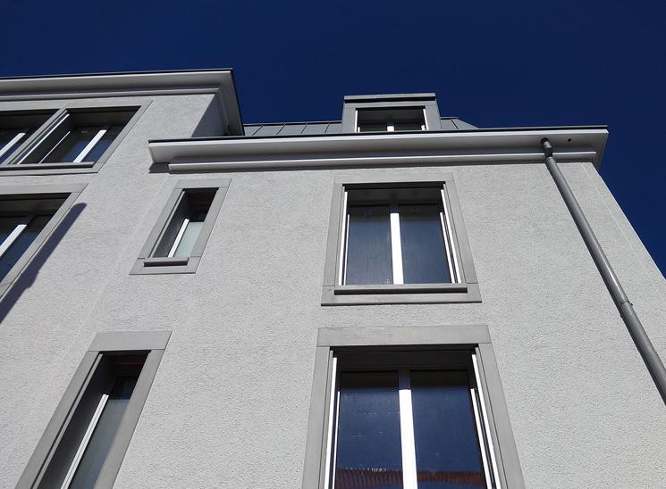 Luzern Mettenwyl, Fassade