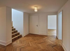 Luzern Mettenwyl, Gipserarbeiten an Decken und Wänden
