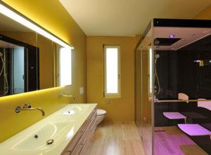 Luzern Mettenwyl, Gips im Innenbereich, Badezimmer
