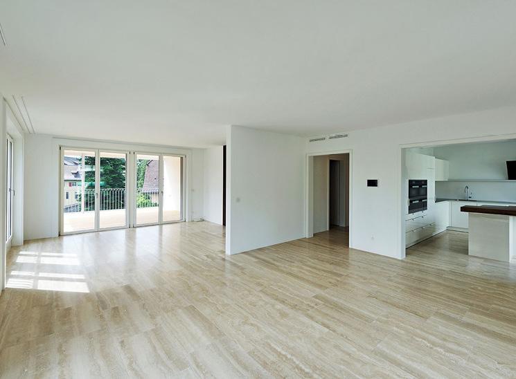 Luzern Mettenwyl, Innenansicht Wohnraum