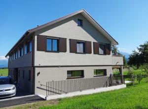 Fassade DEF Adligen Emmenbruecke, Front