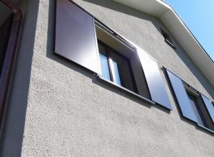 Fassade DEF Adligen Emmenbruecke, Details Fassade