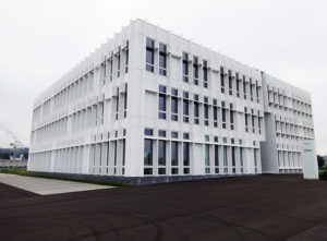 Fassade GWH Obstgarten Emmen, Gebäude