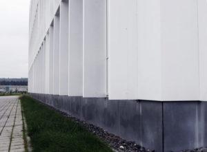Fassade GWH Obstgarten Emmen, Fassade Detail