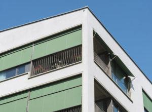 Fassade Zielacher, Gebäude