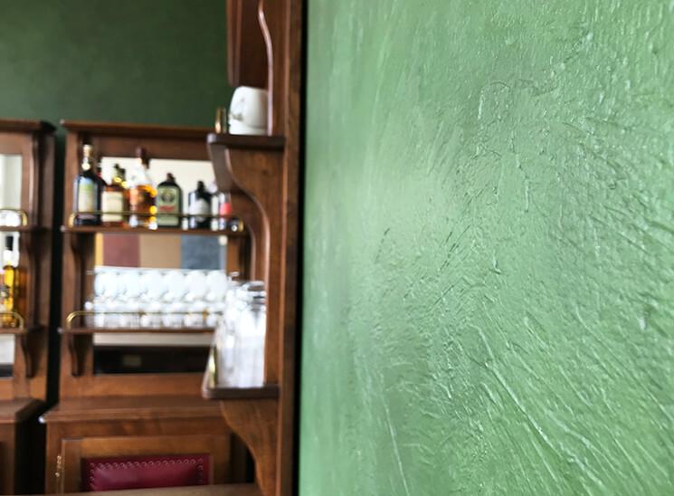 Granol Dekorspachtel Detail Wand