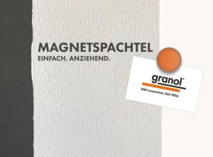 Granol Magnetspachtel Logo