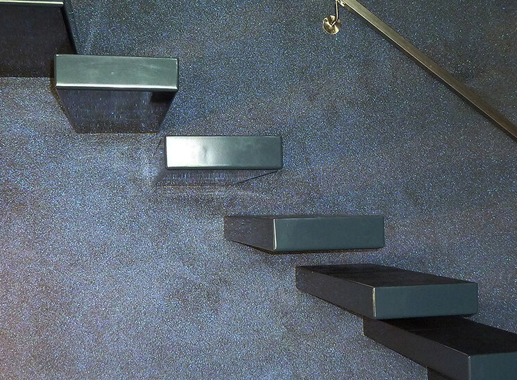 Granol Natursteinputz Treppe