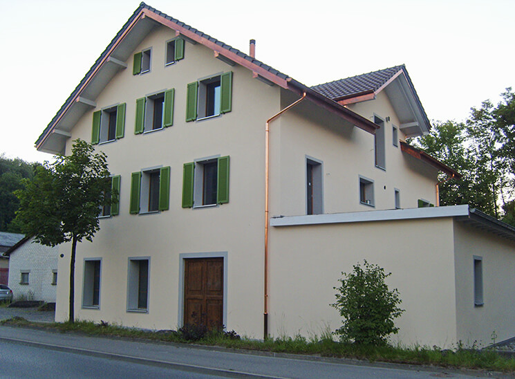 Isolationen Rothenburgstrasse Eschenbach, nachher