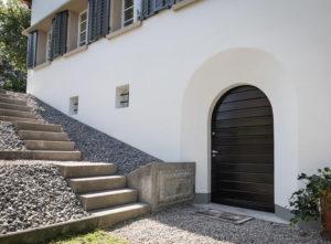 Riss-Sanierung Luzern, Gips, seitliche Ansicht