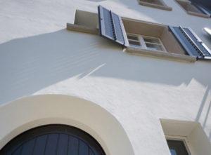 Riss-Sanierung Luzern, Gips, Fassade Detail