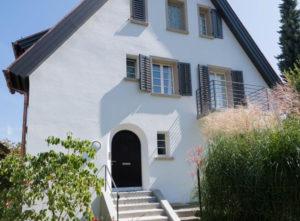 Riss-Sanierung Luzern, Gips, Fassade