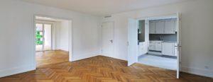 Innenbereich Wohnraum und Küche - HUWYLER STUDER AG