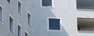 Fassade mit Fenster - HUWYLER STUDER AG