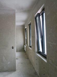 Gips Neubau Käserei Seiler Rohbau Fenster
