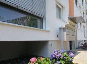 Isolation Sanierung Ruopigenring Fassade Detail